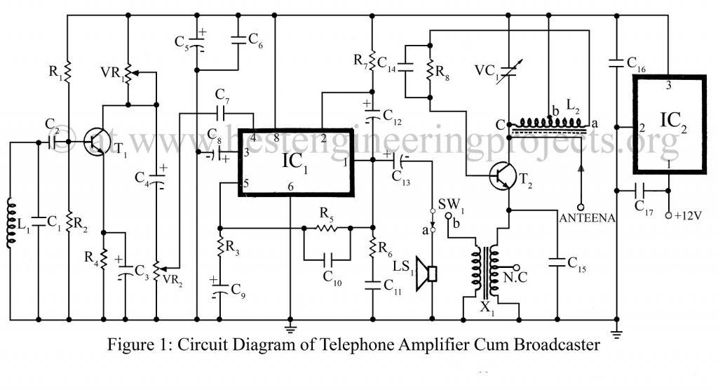 telephone spy circuit