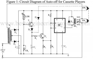 Timer Ic 555 And 556 Based Projectson Clap Switch Circuit Diagram