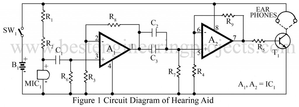 Hearing Aid Circuit - Engineering Projects on