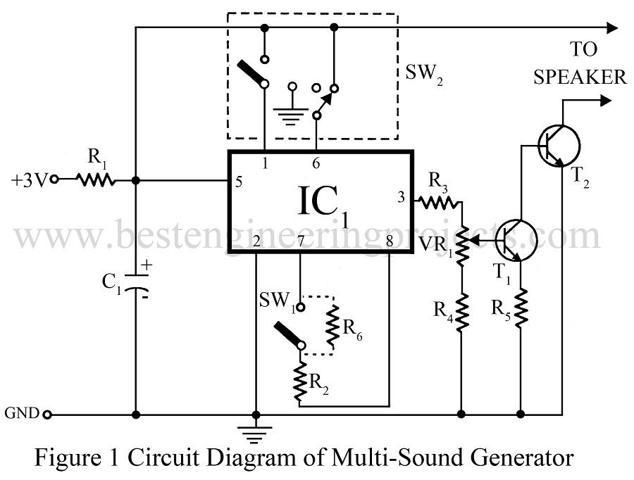 Multi Tone Generator Circuit Multi Tone Generator Circuit