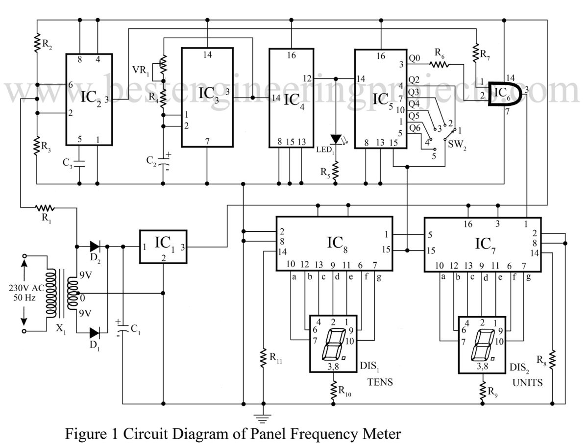 Circuit Diagram Of 100 Rung Exclusive Counter Simple Wiring Tester Electronic Measurement And Test