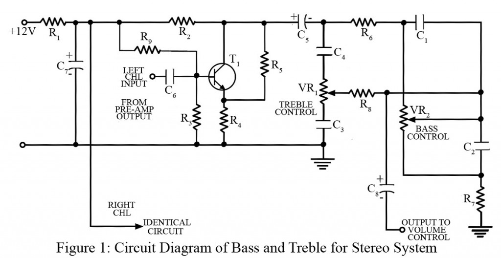 Bass Treble Circuit - Engineering Projects