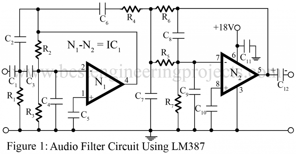 Audio Filter Circuit Best Engineering Projects