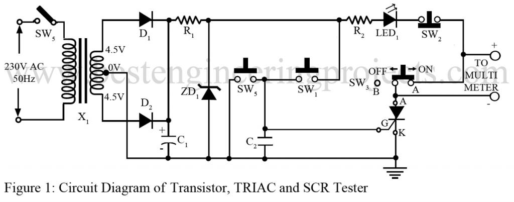 Diagram Of Scr - Wiring Diagrams List