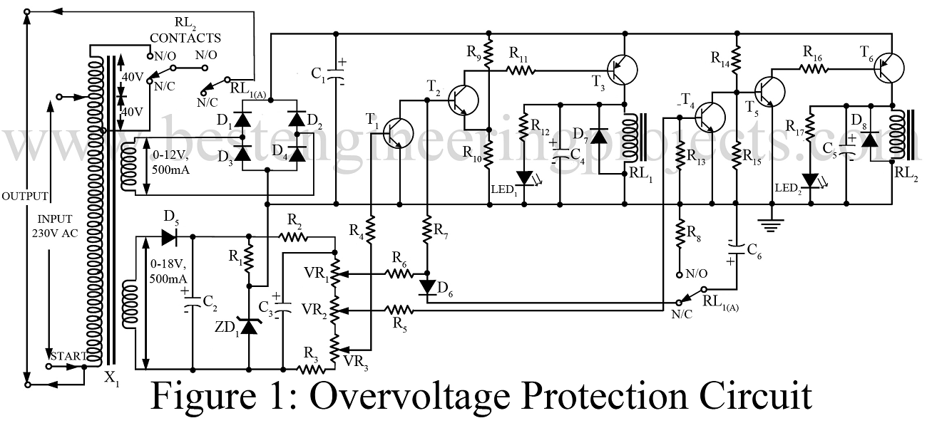 Overvoltage Protection Circuit on 555 Timer Circuits Fun