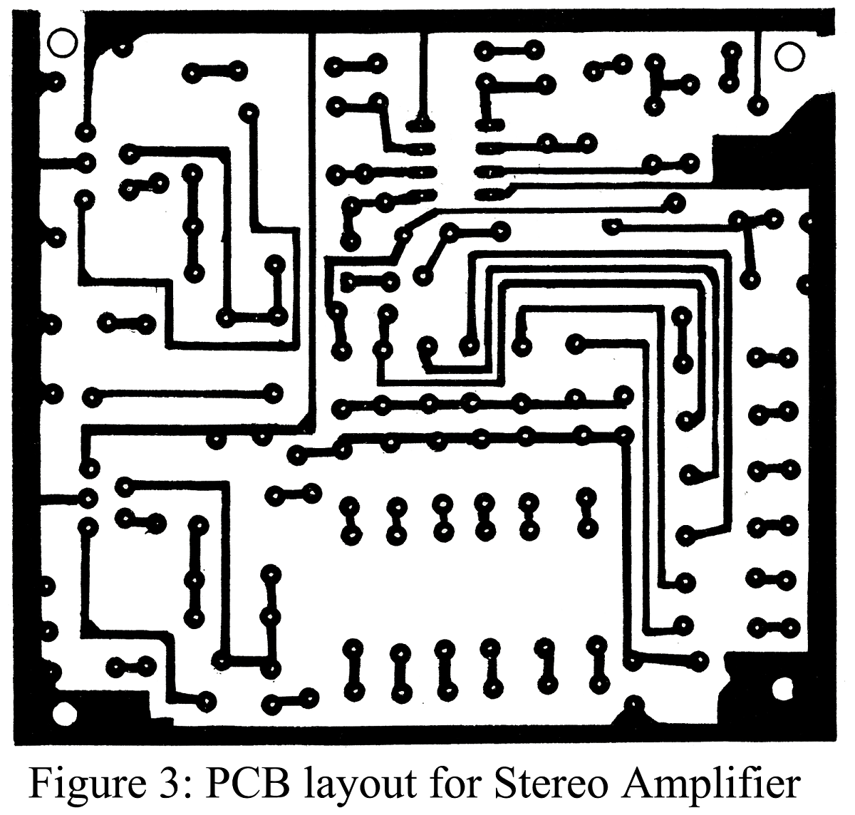 pcb design for stereo amplifier