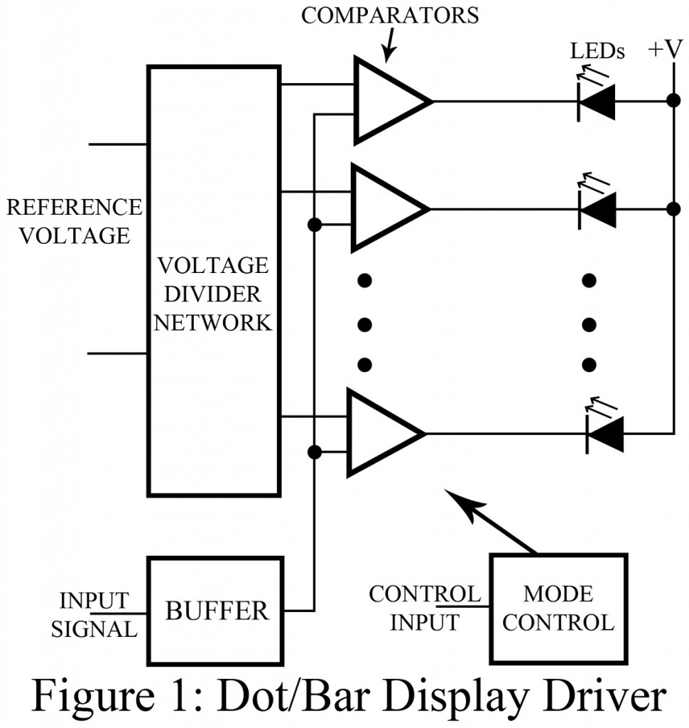 Dot Bar Display Driver Circuit Best Engineering Projects Voltage Divider