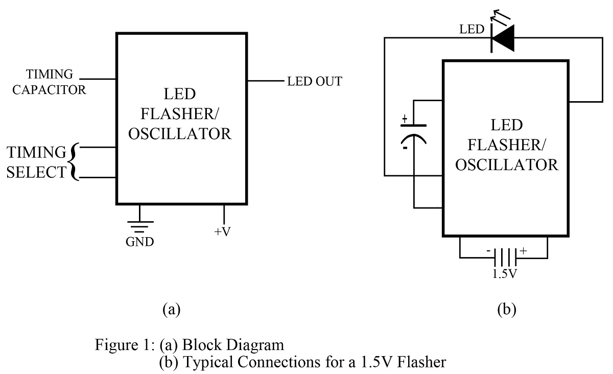 Led Flasher Circuit Best Engineering Projects Using Ne555 Timer Basic Electronic Project