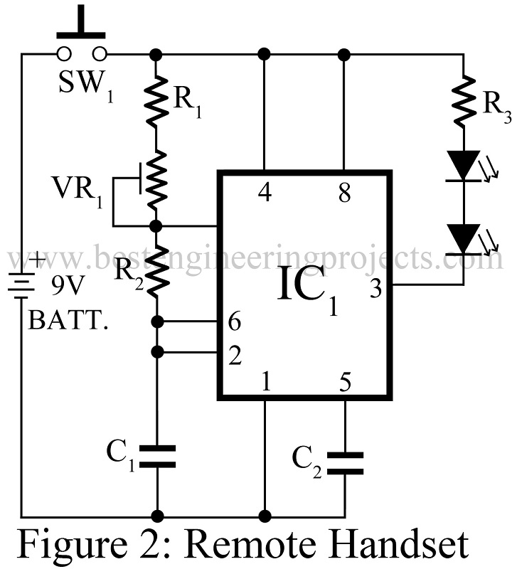 load protector circuit and remote switching
