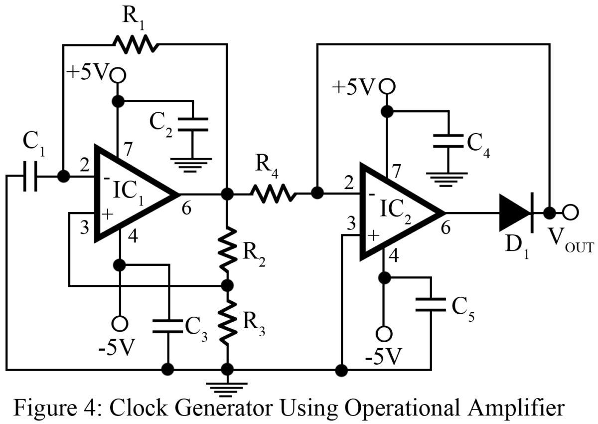 Clock Signal Generator Circuit Best Engineering Projects How To Build Sound Effects Diagram