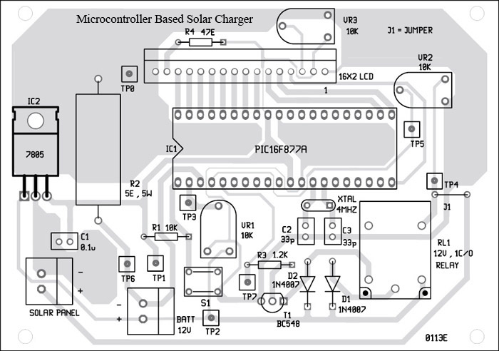 Microcontroller Based Solar Charger - Engineering Projects