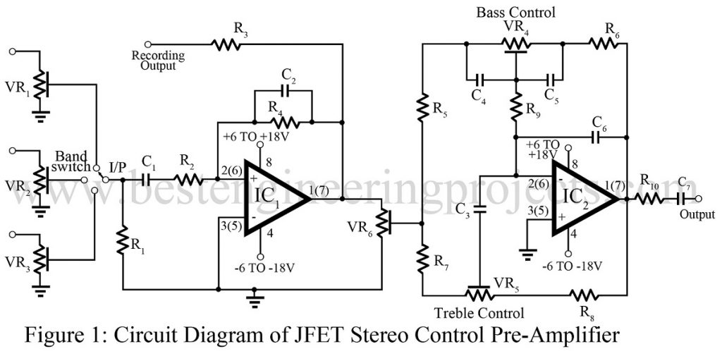 Schematic Of Jfet Preamplifier Test Circuit - Wiring Diagram Content