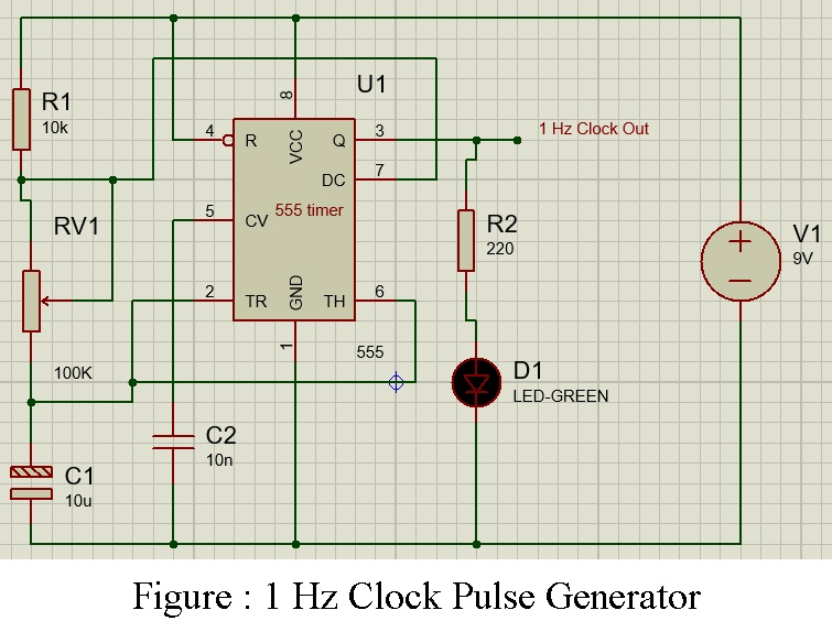 24 Hour Digital Clock And Timer Circuit Best Engineering Projects