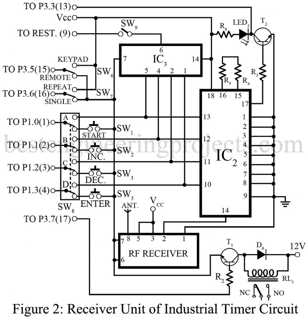 Industrial Timer Circuit - Best Engineering Projects