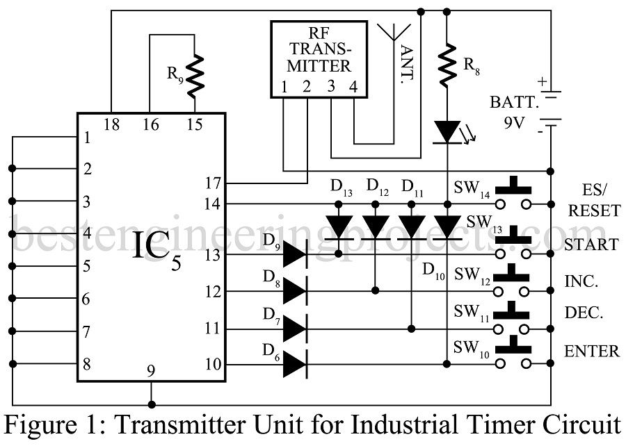 Industrial Timer Circuit Engineering Projects
