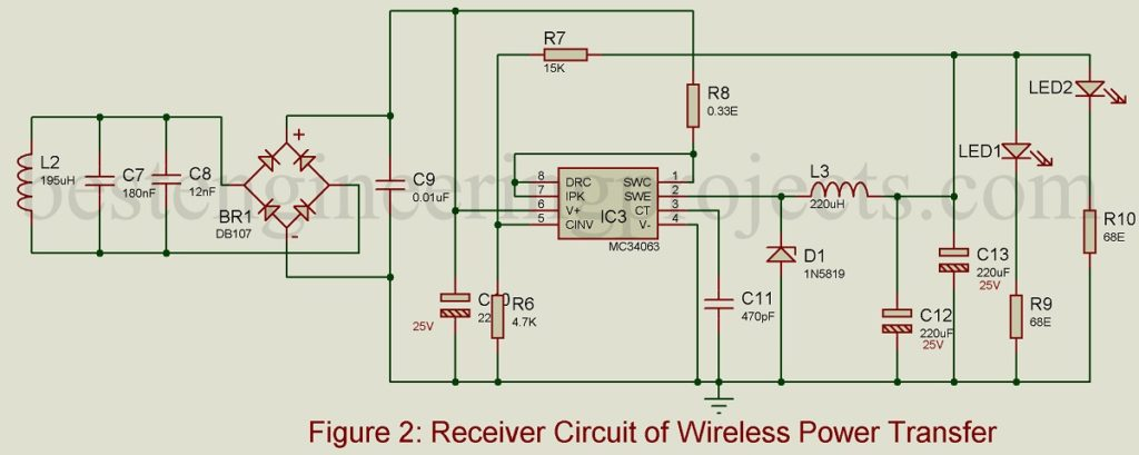 receiver-circuit-of-wireless-power-transmitter-1024x409 Usb Wiring Diagram For Charging on wiring diagram sata, power for usb, speaker for usb, connector for usb, pinout for usb,