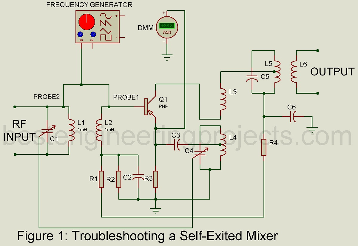 Troubleshooting Of Am Converter Circuit Best Engineering Projects Using Ne555 Todays Circuits
