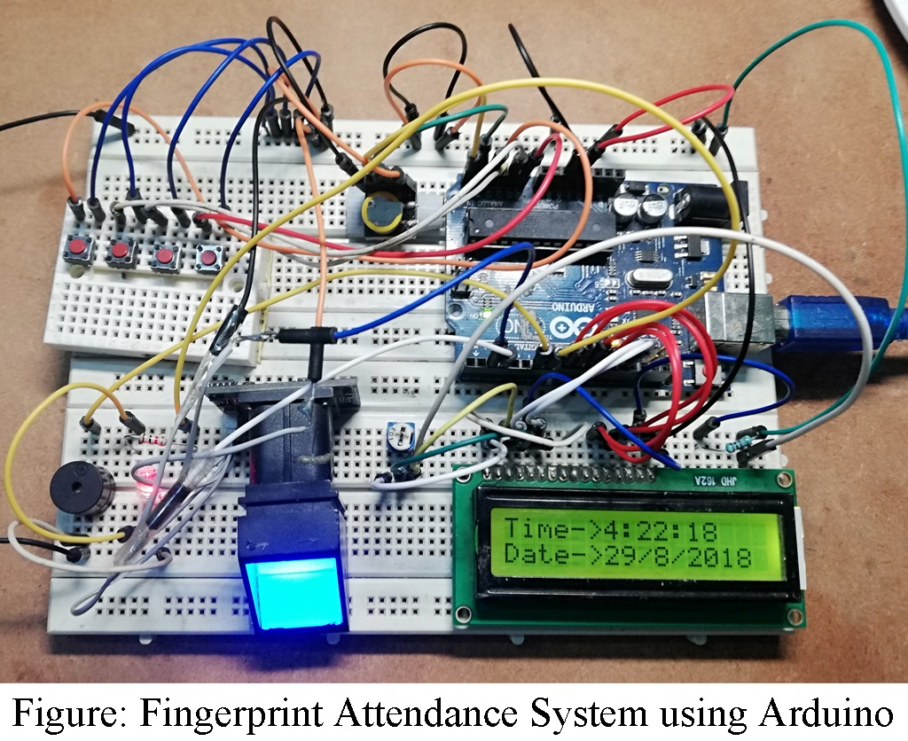 Fingerprint Attendance System using Arduino - Engineering Projects