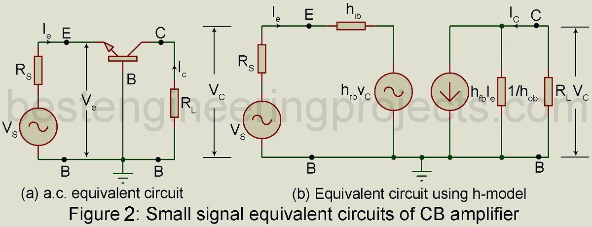 Swell Analysis Of Common Base Cb Amplifier Using H Parameter Wiring Digital Resources Antuskbiperorg