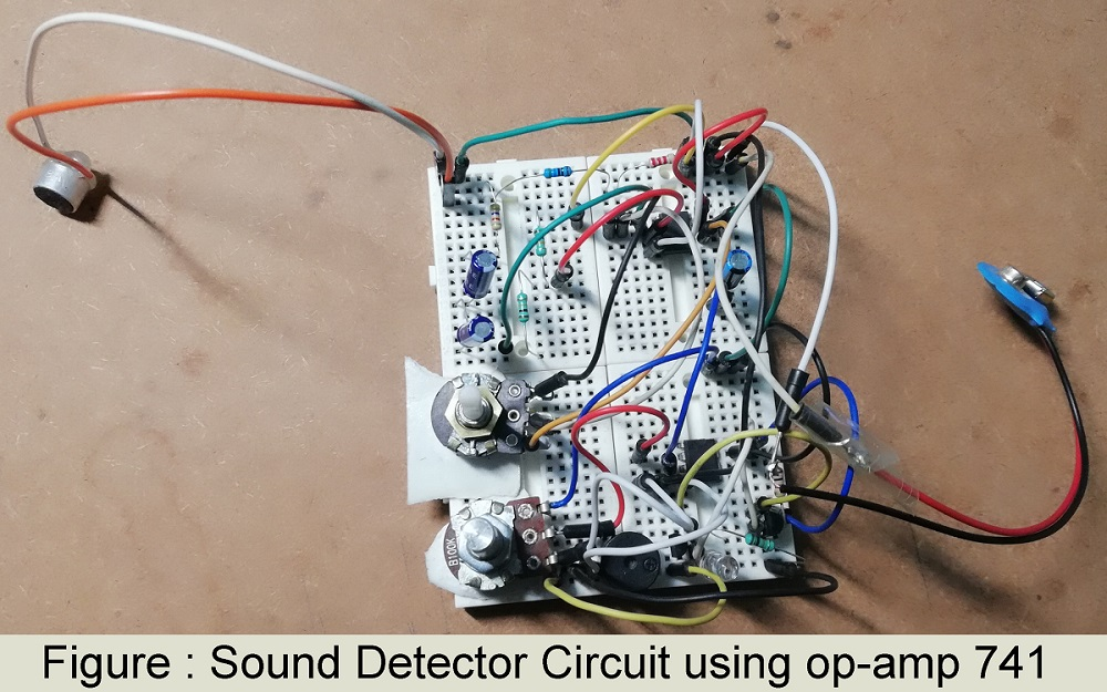 Superb Sound Detector Circuit Using Op Amp 741 Engineering Projects Wiring Cloud Pendufoxcilixyz