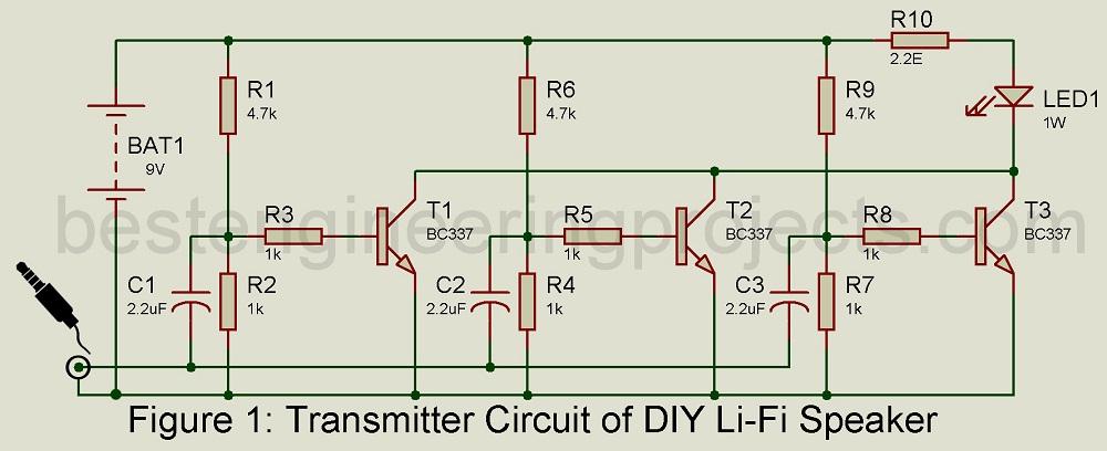 Diy Li-fi Speaker