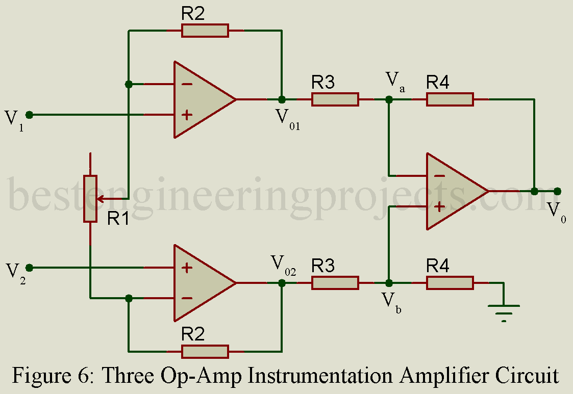 Fabulous Instrumentation Amplifier Derivation Advantage Engineering Wiring 101 Capemaxxcnl