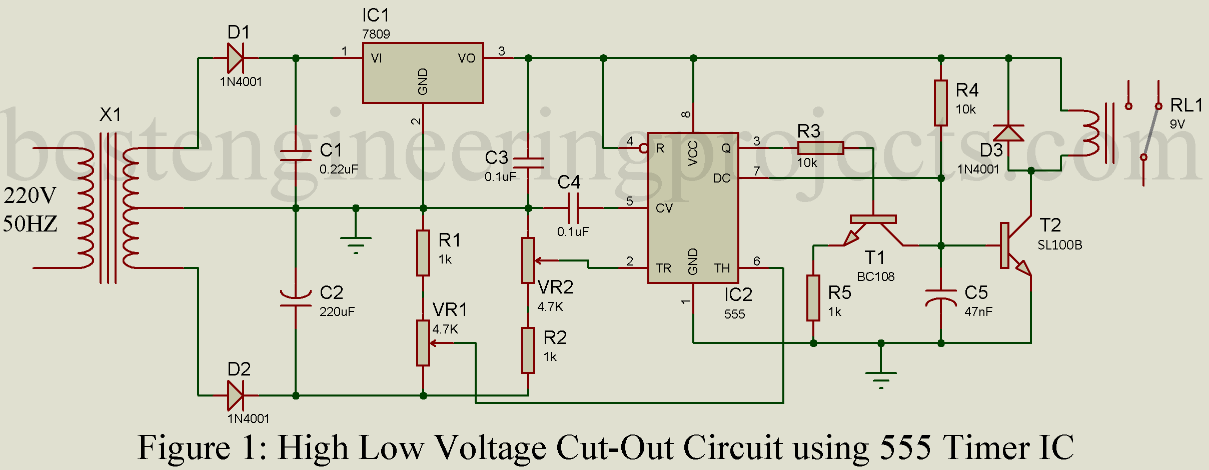 Special Function Timer Circuits Lm555