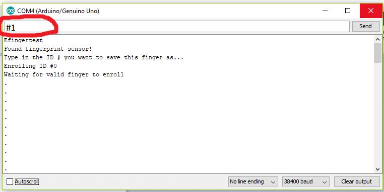 R305 Fingerprint Module Source Code