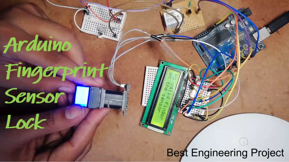 Arduino Fingerprint Sensor Lock - Engineering Projects