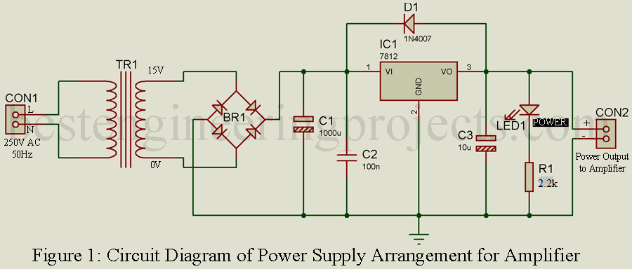 Best Audio Amplifier Circuit - Engineering Projects