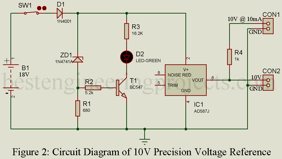 Precision Voltage Reference Circuit